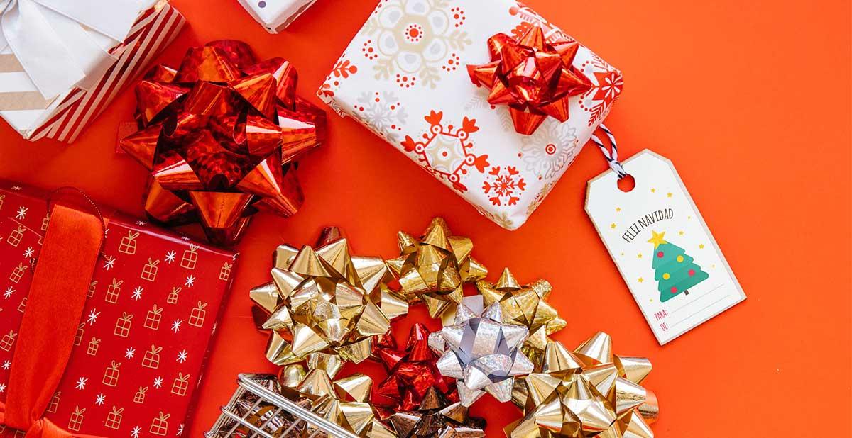 Etiquetas navideñas para descargar