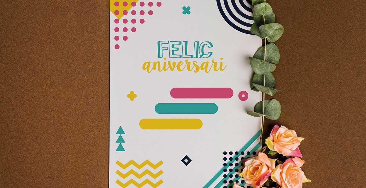 Tarjeta de cumpleaños imprimible